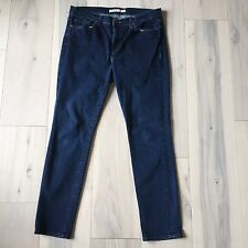 "J. Brand "" Freedom Wash"" Skinny Leg Ankle Length Dark Wash Blue Jeans 31/12/L"