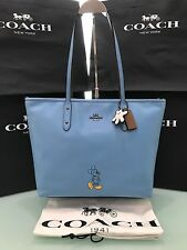 COACH Mickey City Tote in Calf Leather56645 BlueJay Limited Edition