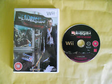 NINTENDO Wii GAME-DEAD RISING-CHOP TILL YOU DROP-Giochi Game Console-INGLESE-ING