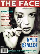 THE FACE October 1991 KYLIE MINOGUE Brandon Lee STEVEN KLEIN Army Of Lovers EXCL