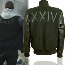 Adonis Creed Michael B Jordan Kobe Destroyer Battle Jacket White | Black Sleeves