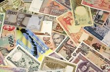 HUGE UNSEARCHED WORLD FOREIGN CURRENCY BANKNOTE BLOWOUT (SOLD IN LOTS OF 12) #1