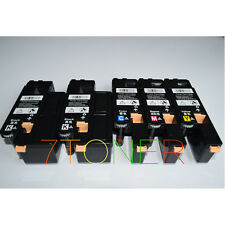 5 x Toner For Xerox Phaser 6010 6000 Workcentre 6015  106R01631 - 106R01634
