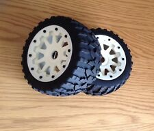 HPI BAJA REAR 10 SPOKE STONE TYRES&WHEELS FOR HPIBAJA 5B,5T,5B2.0,1/5,KM,ROVAN