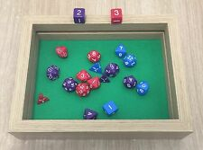 """New"" Rectangular Dice Box / Tray (Double Layer) by customdicebox.com"