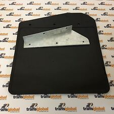 Land Rover 90 110 130 Defender Front Mud Flap with Galvanised Bracket - Bearmach