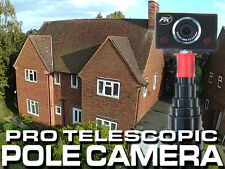 Telescopic Camera Pole - 8m reach monopod roof inspection - FREE PK SMART CAMERA