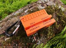UST SABERCUT CERAMIC & CARBIDE KNIFE SHARPENER BUSHCRAFT SURVIVAL EDC SCOUTS