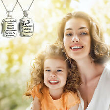 Womens Fashion Love Letters Chunky Charm Necklace Pendant Chain Mothers Day Gift