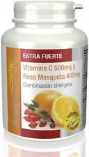 Vitamina C 500mg,Rosa Mosqueta 400mg |360 comprimidos |Simply Supplements (E234)