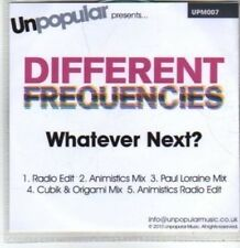 (BT461) Different Frequencies, Whatever Next? - DJ CD