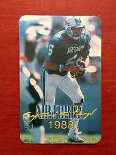 CFB 1988 AIR FORCE FALCONS Football Schedule College FB