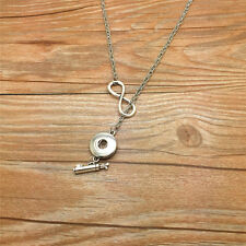 DIY NEW Fashion  Golf bucket gift women Necklace fit 18mm noosa snap button AE08