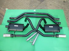 "Ford Capri 3.0 essex Exhaust system - Club System (single silencer 3"" exit)"