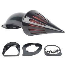 Black Spike Air Cleaner Intake Filter For Honda Shadow Spirit ACE 1100 750 VT750