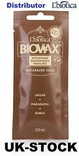 L'BIOTICA BIOVAX NATURALS OILS ARGAN, MACADAMIA, COCONUT - HAIR MASK 20ML