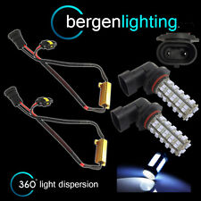 2X HB4 9006 WHITE 60 LED FRONT FOG SPOT LAMP LIGHT BULBS CAR KIT XENON FF500901