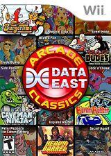 Data East Arcade Classics - Nintendo  Wii Game