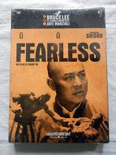FEARLESS Bruce Lee Sun Li Jet Li Film DVD NUOVO