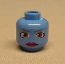 NEW Lego Minifig Head Alien W/. Brown Eyes and Purple Lips (SW Aayla Secura)