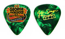 George Thorogood and the Destroyers Jeff Simon Signature Guitar Pick - 2015 Tour