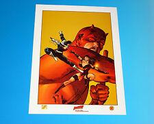 Daredevil Frank Miller Lithograph Artwork Marvel Comics Limited Edition Elektra
