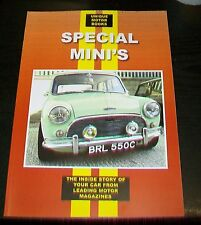 SPECIAL MINI'S ROAD TEST & MAGAZINE ARTICLE REPRINTS. COX COOPER OGLE BROADSPEED