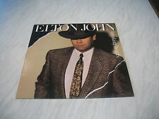 LP - Elton John - Breaking Hearts album vinyl record Rocket 1984