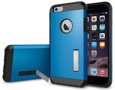 Tough Armor Hybrid Case Cover With Kickstand For iPhone 6/6S 4.7 inch (Blue)
