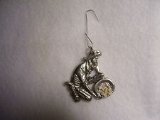 "Gold Prospecting Mining Panner ""Ornament""  Pewter Figurine"