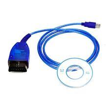 USB Cable Auto Diagnostics Scanner KKL VAG 409.1 OBD2 VCD Software For VW Audi U