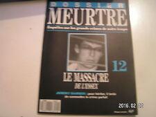 ** Dossier meurtre n°12 Jeremy Bamber Le massacre de l'Essex
