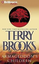 Genesis of Shannara: Armageddon's Children 1 by Terry Brooks (2010, CD,...