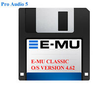 EMU Operating System  Version 4.62 Floppy Disk - For E-MU Classic Samplers