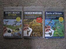 Batalla de Gran Bretaña/Día D Playa ataque/guerra de trincheras Frote Hacia Abajo paquetes de transferencia