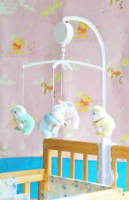 Baby Crib 12 Melodies Music Box Song Cradle Autorotation Electric Hot Baby Toys
