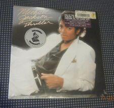 "STILL SEALED MICHAEL JACKSON THRILLER 1982 12""VINYL RECORD LP RARE HYPE+GRAMMY"