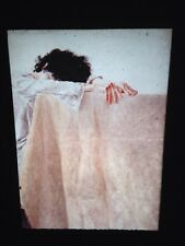 "Avigdor Arikha ""Anne Leaning On Table"" Romanian Israeli Art 35mm Glass Slide"