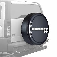 "33"" Hummer H3 Logo - Rigid Tire Cover - Painted - Graphite"