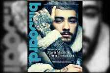 Billboard Magazine, Zayn Malik ONE DIRECTION Carly Simon Demi Lovato AlunaGeorge