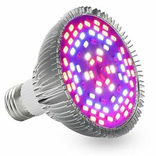 Full Spectrum 50W E27 78LEDs LED Plant Grow Bulb Lamp Hydroponic Flower Light