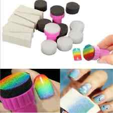 15PCS Lots Nail Art Sponge Stamp Stamper Transfer Template Polish Manicure Tool