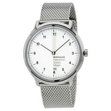 Mondaine Helvetica No1 Regular White Dial Mens Watch MH1.R2210.SM
