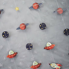 Space Rocket Backdrop / Bunting Decoration - Space Adventure Birthday Party