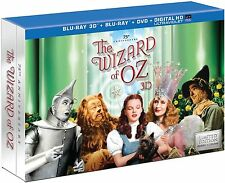 The Wizard of Oz (Blu-ray/DVD, 2013, 5-Disc Set, Collector's Edition) NEW