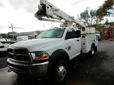 2011 Dodge Ram 5500 BUCKET TRUCK TEREX HIGH RANGER INSULATED BOOM CUMMINS DIESEL