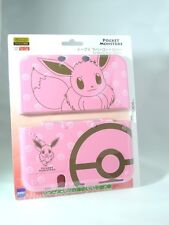 "Pokemon Eevee Rubber Coat Cover Case Pink for ""new"" Nintendo 3DS XL / LL Japan"