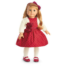 "American Girl MARYELLEN CHRISTMAS PARTY OUTFIT for 18"" Doll Dress Holiday NEW"