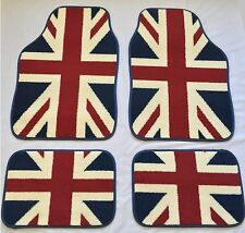 UNION JACK FLAG CAR MATS FOR LANDROVER DISCOVERY FREELANDER RANGEROVER EVOQUE