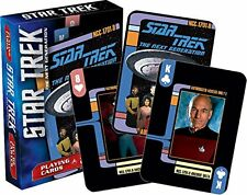 Star Trek Next Generation Spielkarten Set Mit 52 Stück - Poker Playing Cards